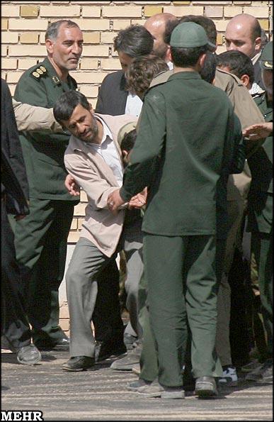 سوتی احمدی نژاد در زمان تنفیذ و عکس پسر محمود احمدی نژاد